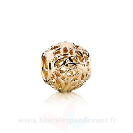 Charme Pandora Pandora Collections Breloque Papillon Jardin 14K Or