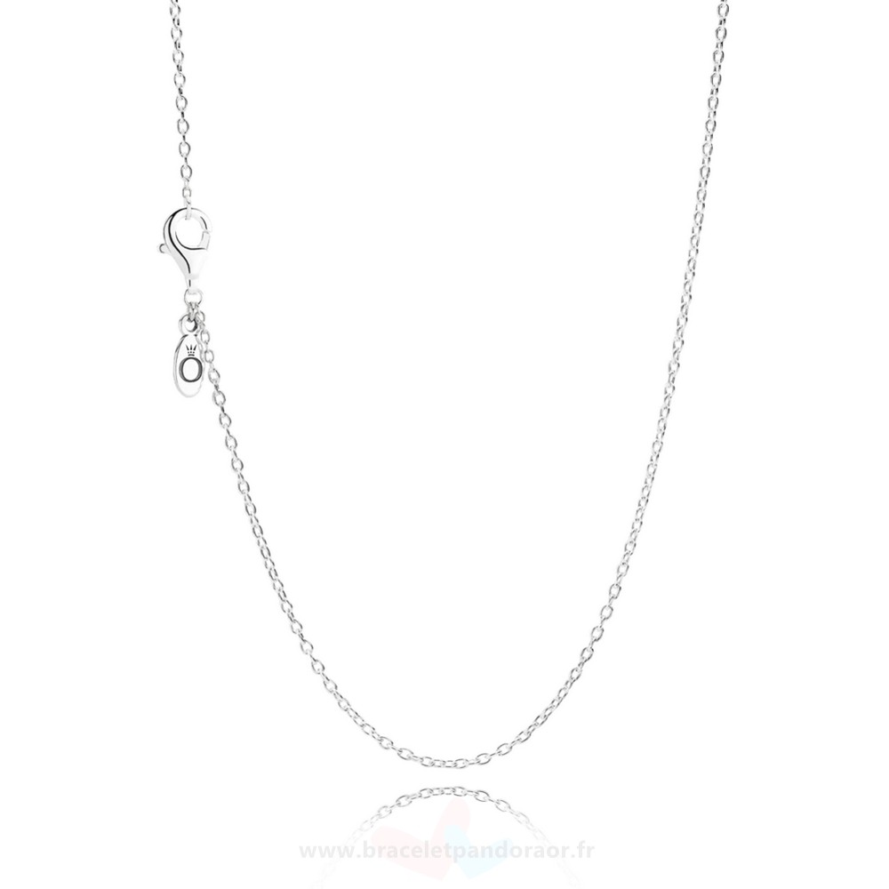 Charme Pandora Pandora Chaines Collier Chaine Slingling Argent