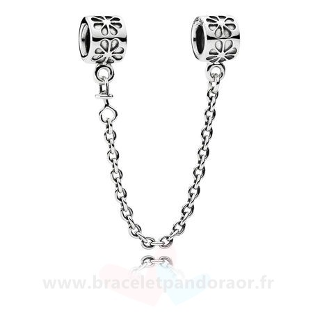 Charme Pandora Pandora Chaines De Securite Daisy Safety Chain