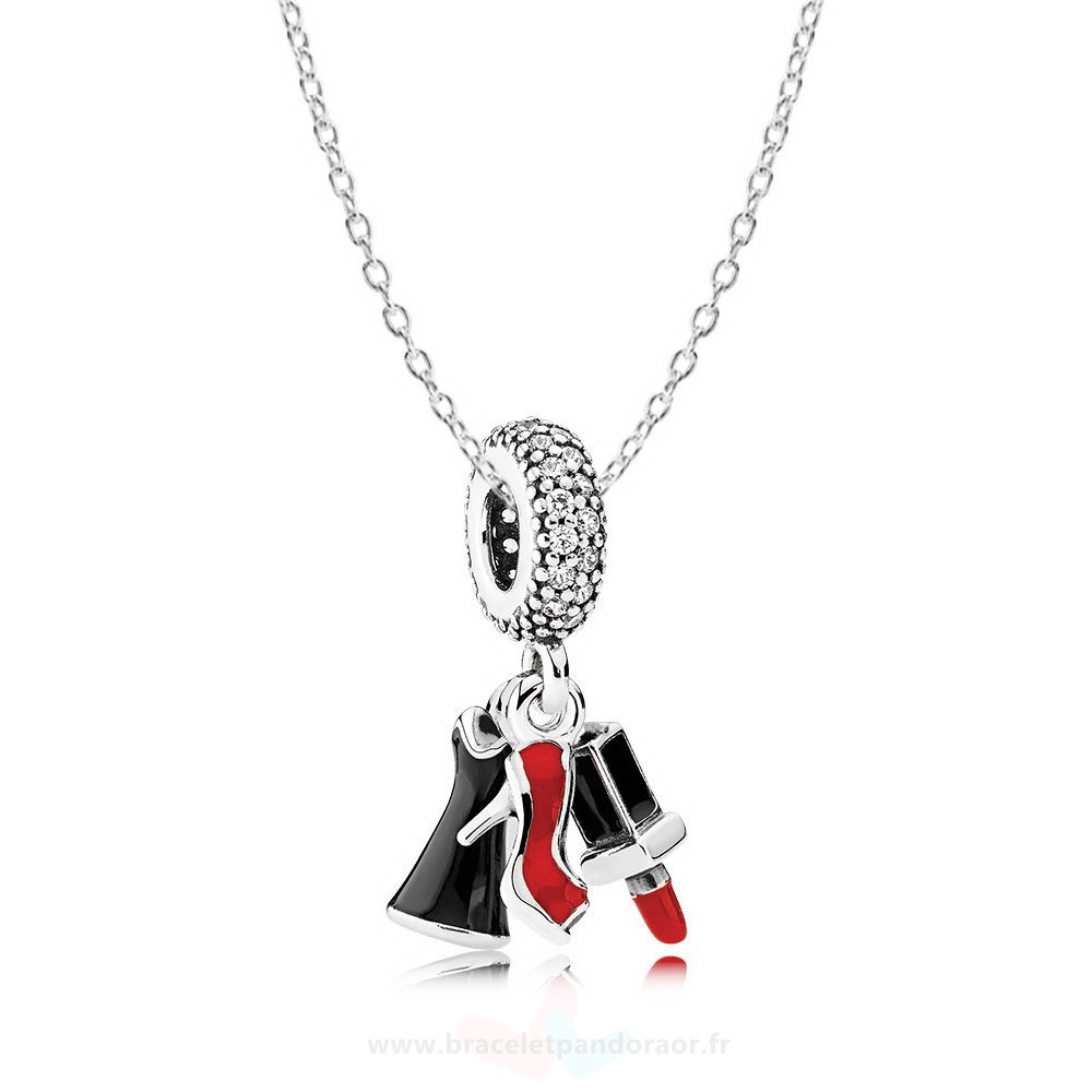 Charme Pandora Filles Night Out Collier