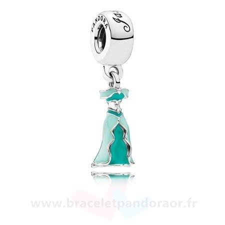 Charme Pandora Disney Jasmine'S Dangle Charm Mixed Enamel