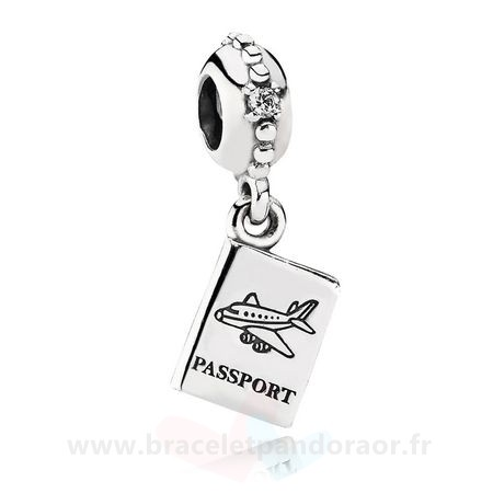 Charme Pandora Pandora Vacances Charms De Voyage Aventure Awaits Dangle Charm Clear Cz