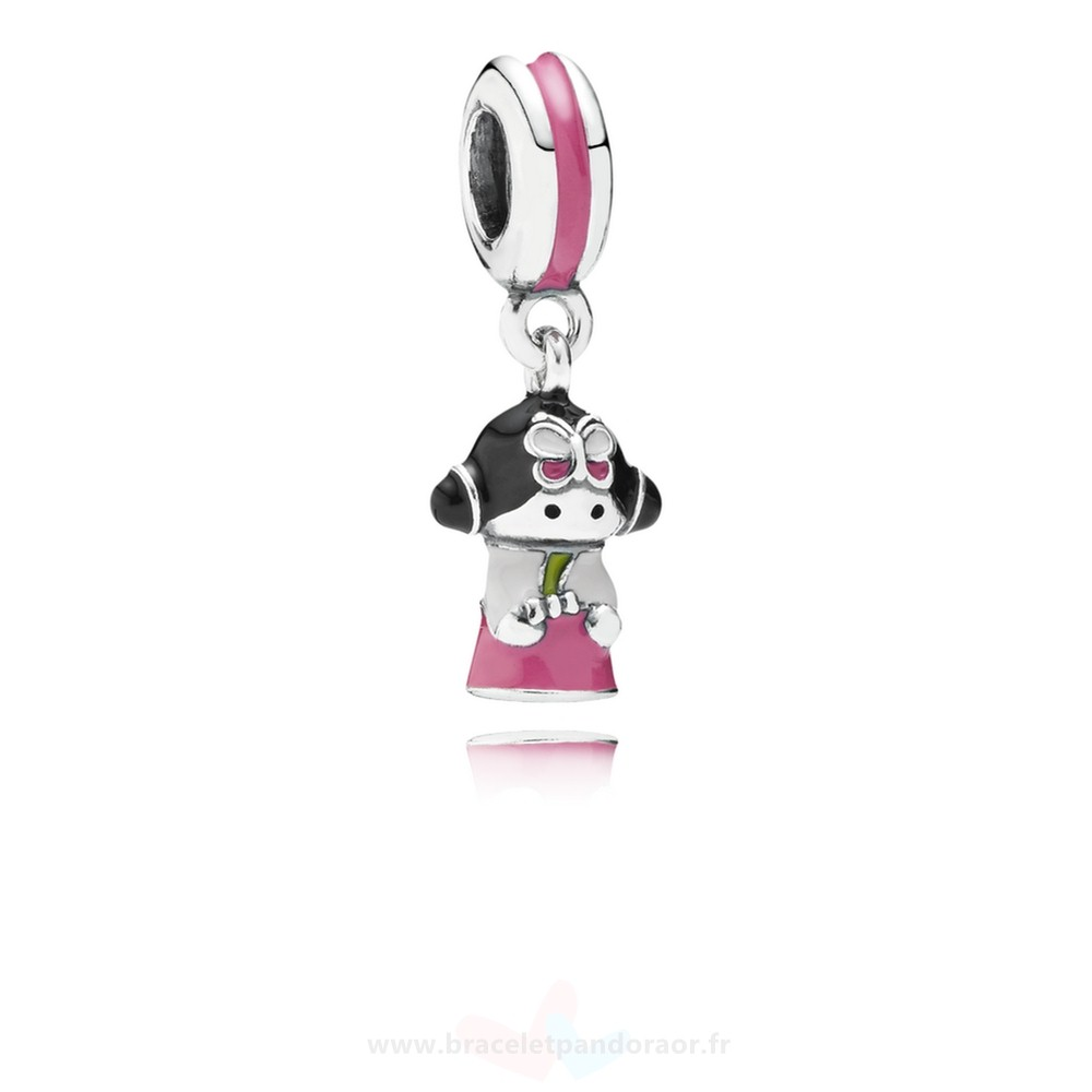 Charme Pandora Pandora Vacances Charms De Voyage Coreen Doll Dangle Charm Mixed Enamel
