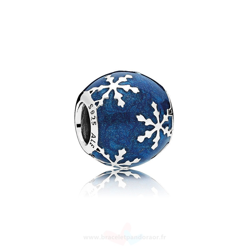 Charme Pandora Nature Charms Charme Delice Midnight Blue Enamel