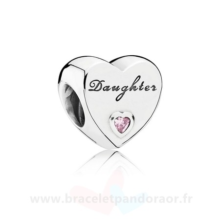 Charme Pandora Famille Charms Charme Fille Amour Rose Cz