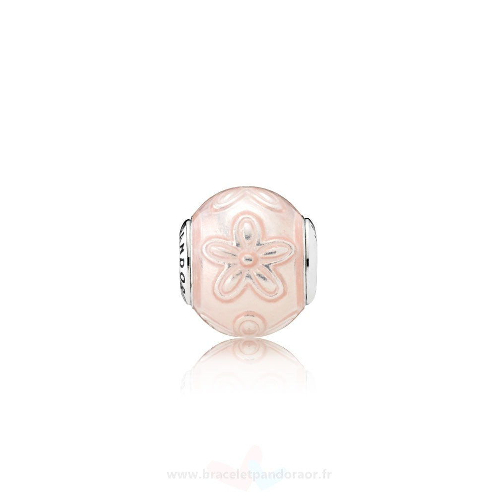 Charme Pandora Essence Happiness Charme Transparent Creme Rose Email